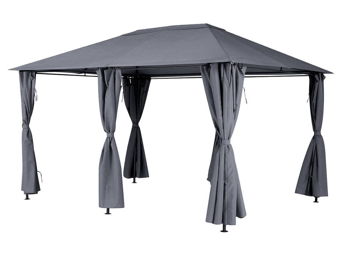 tonnelle de jardin hesp ride santorini 3 x 4 m jardideco. Black Bedroom Furniture Sets. Home Design Ideas