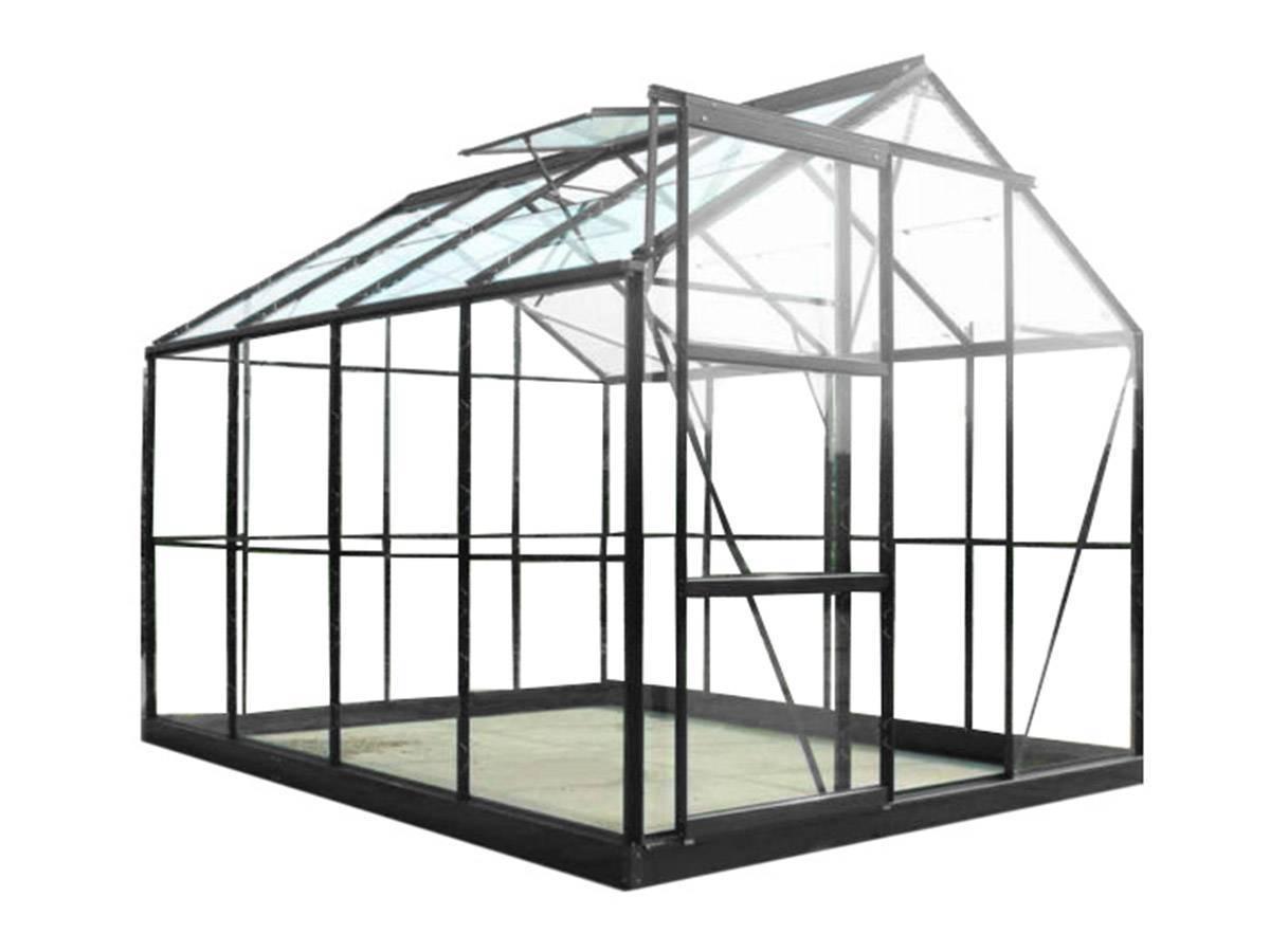 serre en verre tremp sekurit base chalet et jardin. Black Bedroom Furniture Sets. Home Design Ideas