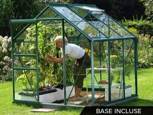 Serre de jardin en verre - Jardideco.fr