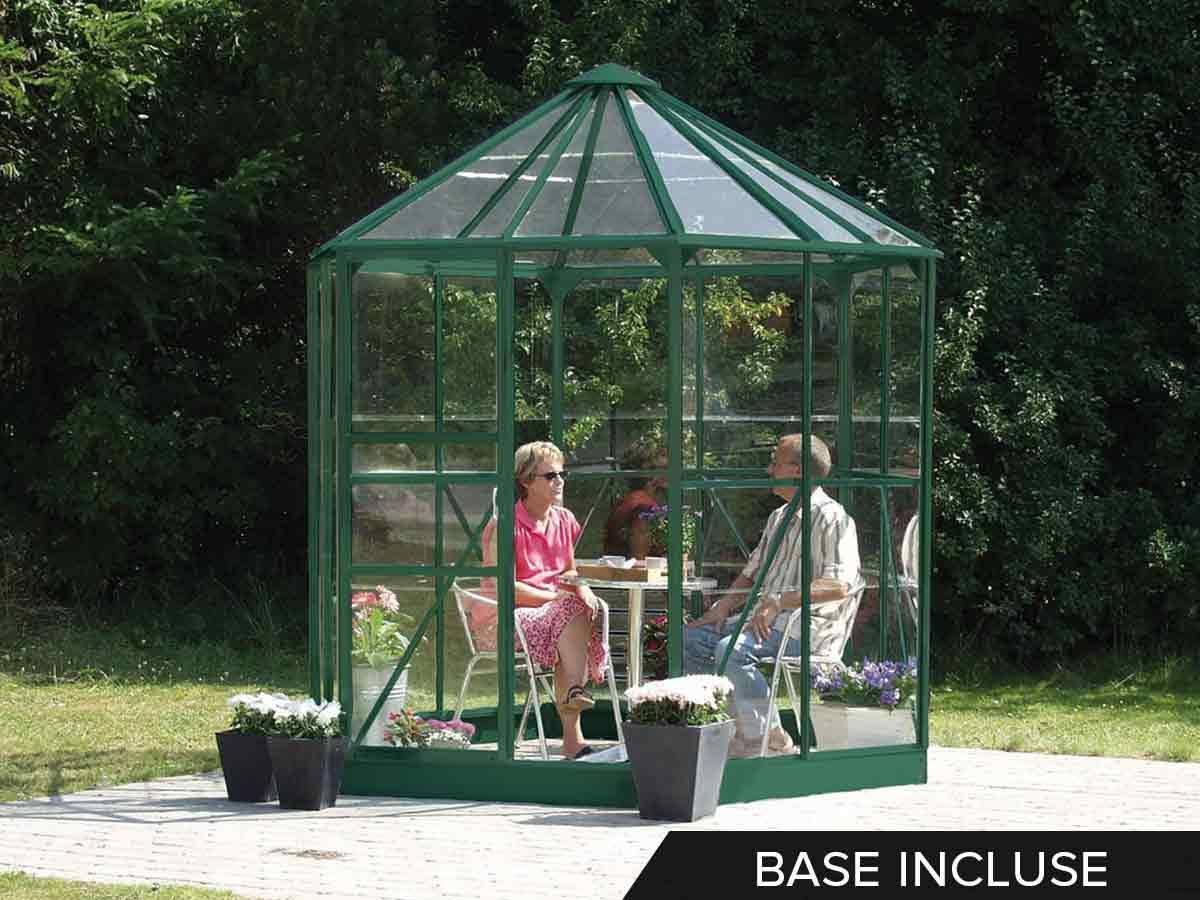 jardin d 39 hiver en verre hera 4 50 m. Black Bedroom Furniture Sets. Home Design Ideas