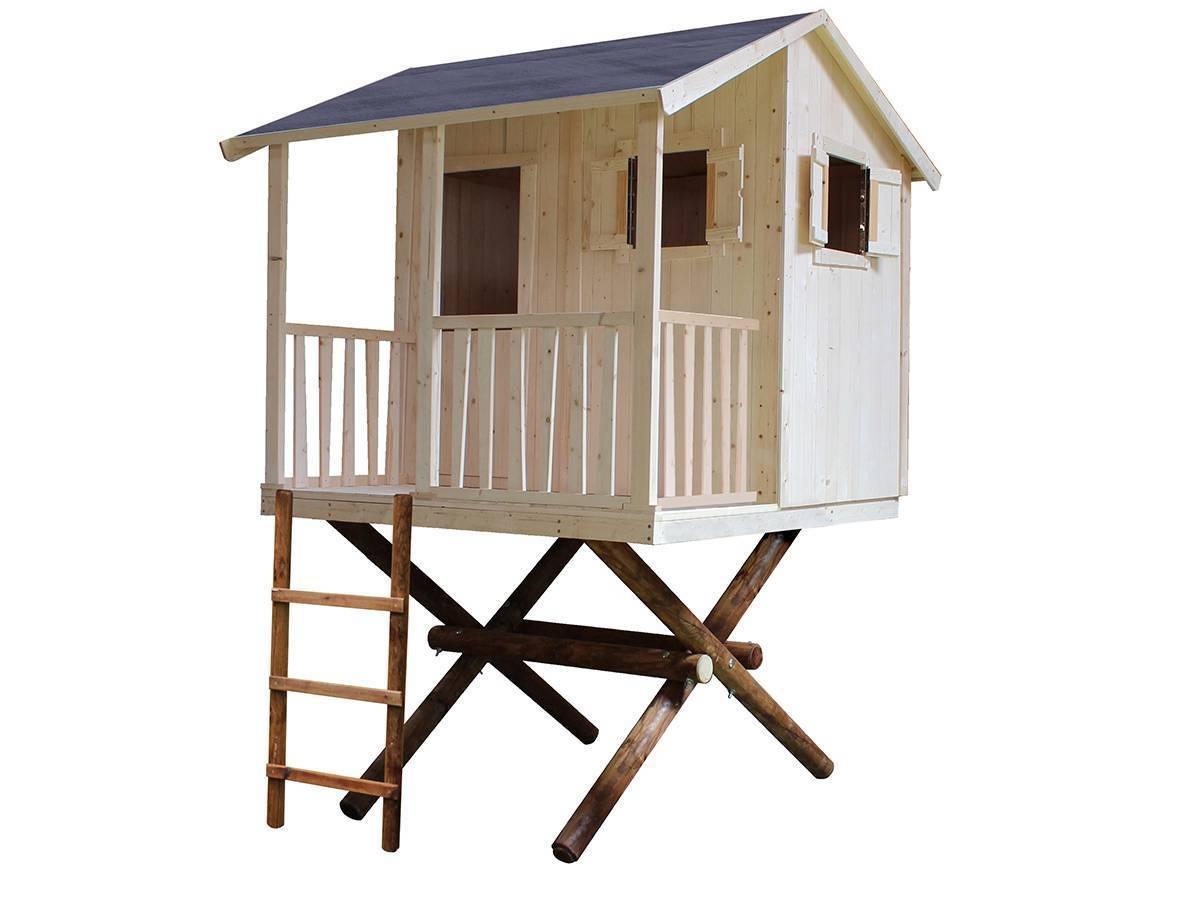cabane enfant soulet mod le dans les arbres prix mini. Black Bedroom Furniture Sets. Home Design Ideas