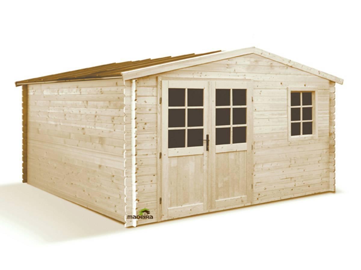 Abri de jardin madeira en bois 28 mm beyrie 11 3 m - Abri jardin bois 28mm ...