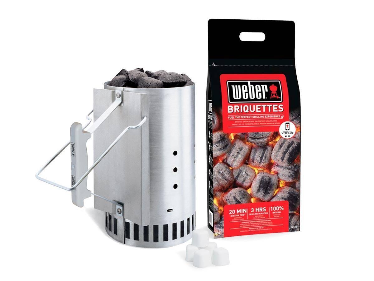 Kit d 39 allumage pour barbecue charbon weber tous mod les - Plancha pour barbecue charbon ...