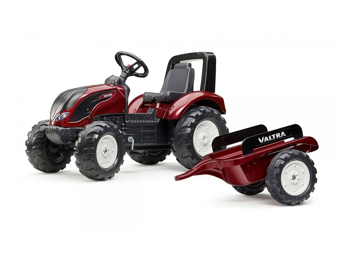 Tracteur enfant falk mod le valtra s4 remorque petit prix - Remorque tracteur enfant ...