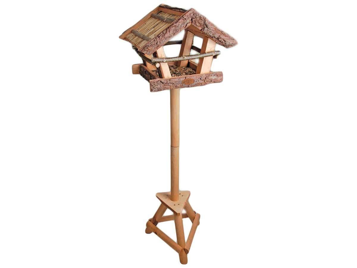 mangeoire pour oiseaux sur pied mod le ecorce eschert design. Black Bedroom Furniture Sets. Home Design Ideas