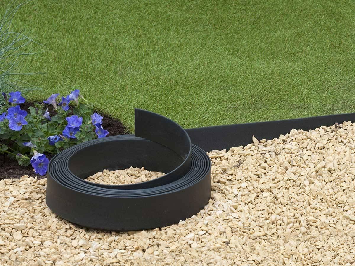 Bordure Plastique Pour Jardin bordure en polyréthane pour jardin et bassin   jardideco