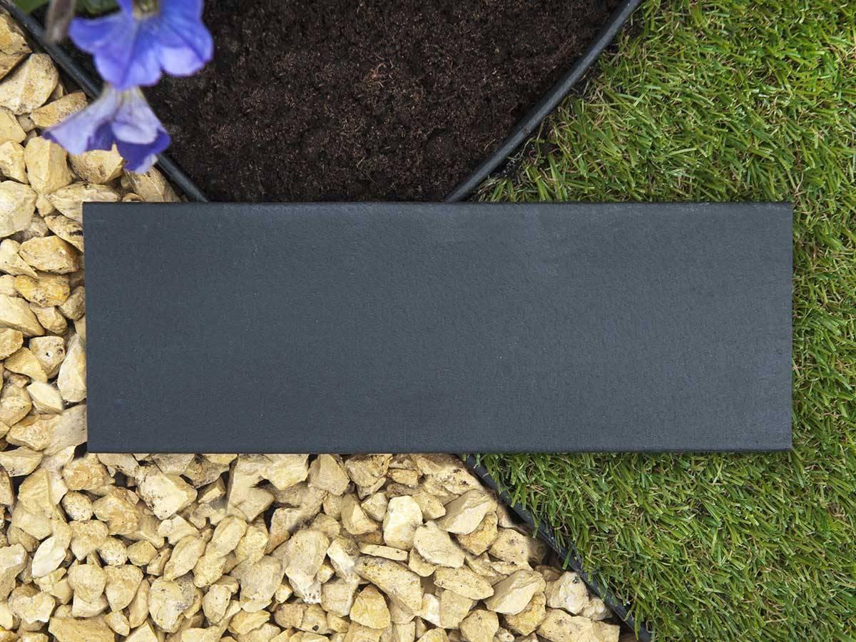 Bordure en polyréthane pour jardin et bassin   Jardideco