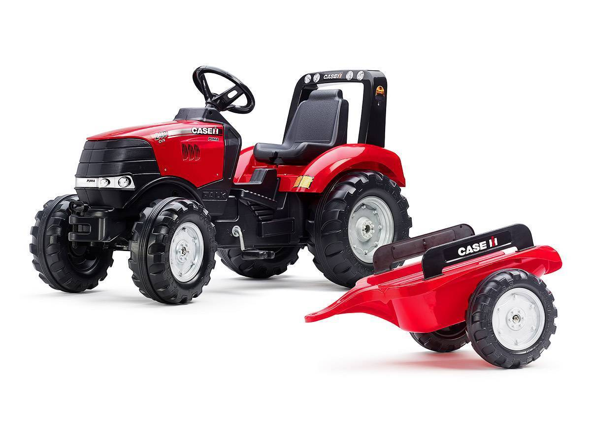 Tracteur enfant falk mod le case ih puma 240 cv remorque - Tracteur remorque enfant ...