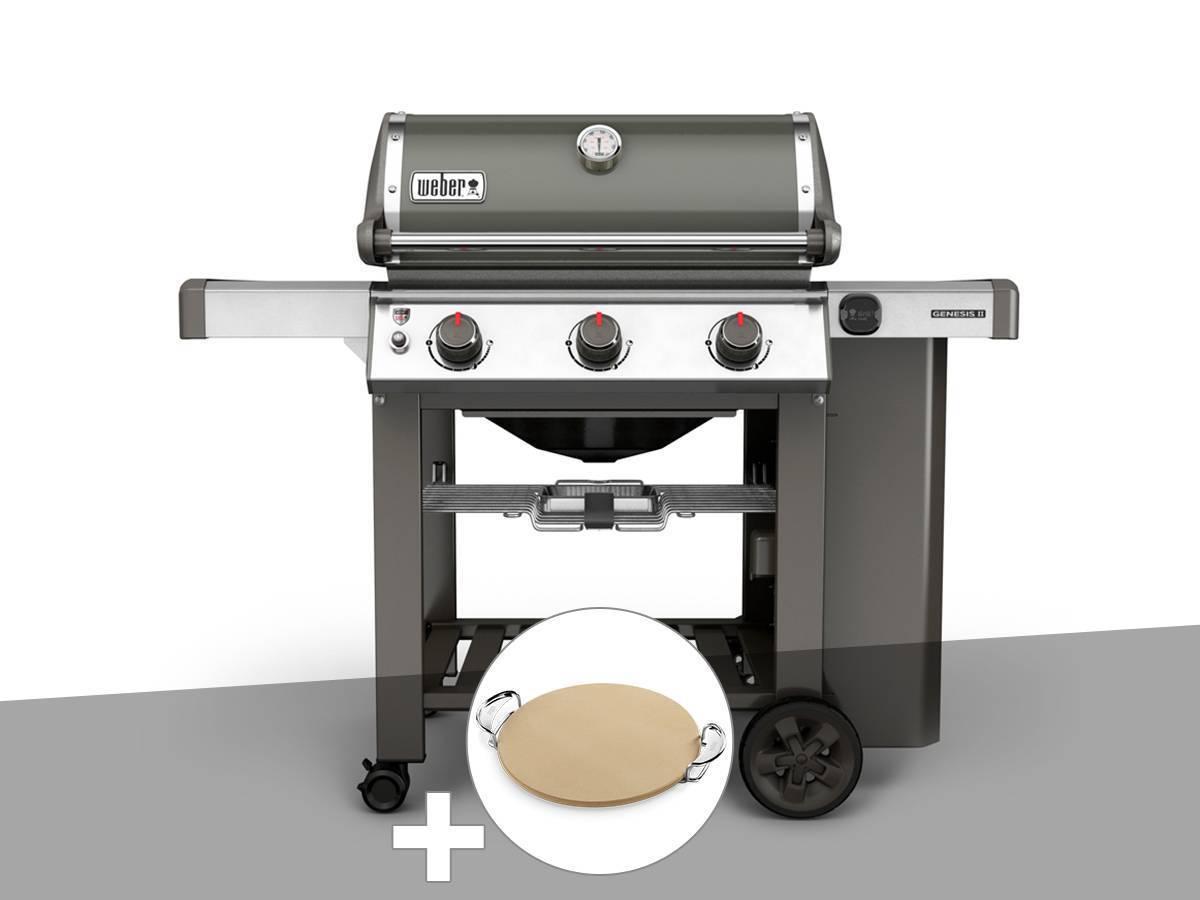barbecue gaz weber genesis ii e 310 gbs gris. Black Bedroom Furniture Sets. Home Design Ideas