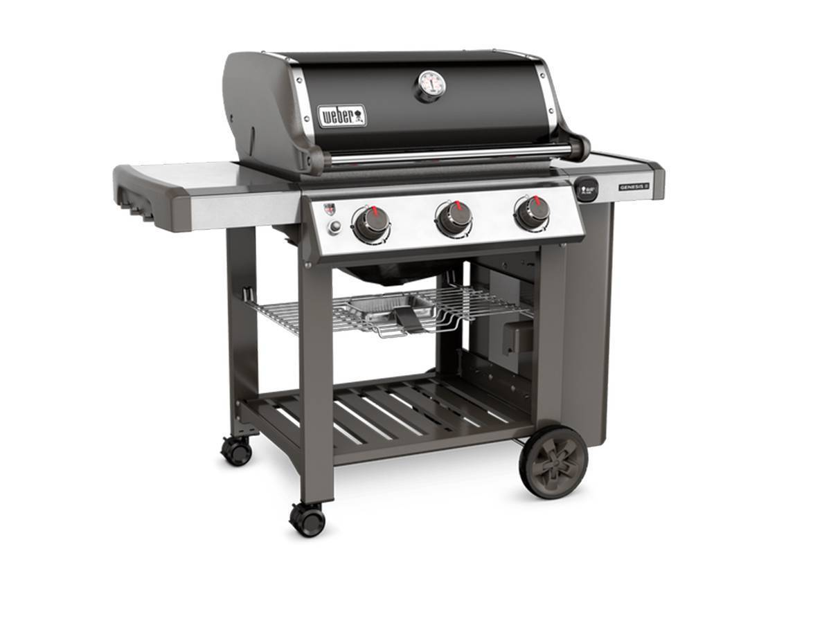 barbecue weber gaz genesis ii e 310 noir accessoires. Black Bedroom Furniture Sets. Home Design Ideas