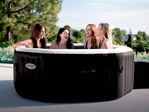 Spa gonflable Intex octogonal bulles   jets 4 places + accessoires offerts aa600156c4f6