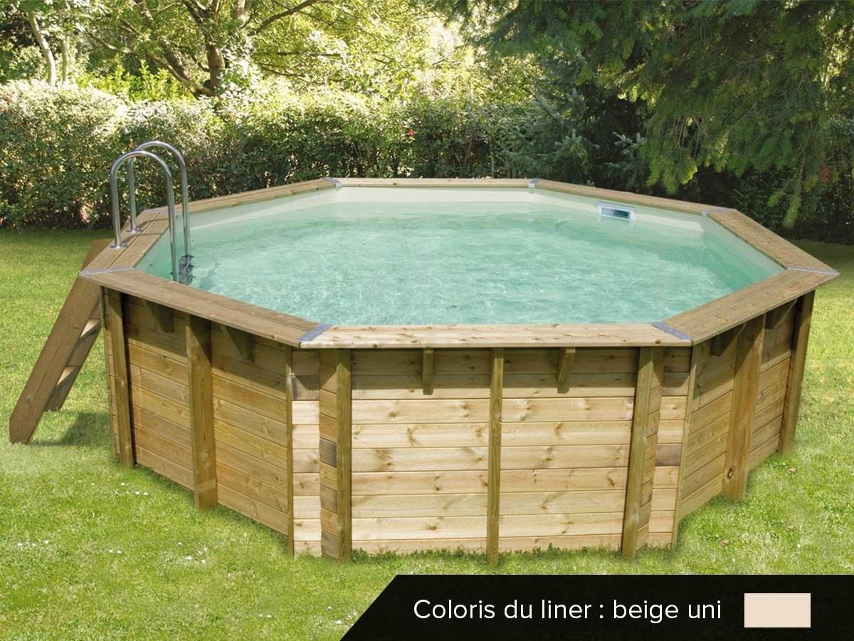 piscine bois pas cher oc a 4 30 x 1 20 m ubbink jardideco. Black Bedroom Furniture Sets. Home Design Ideas