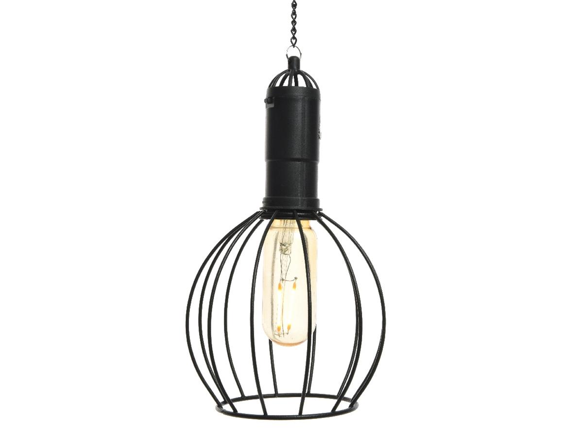 Lampe Exterieur Pour Tonnelle lampe d'extérieur led solaire blanc chaud suspension large - jardideco -