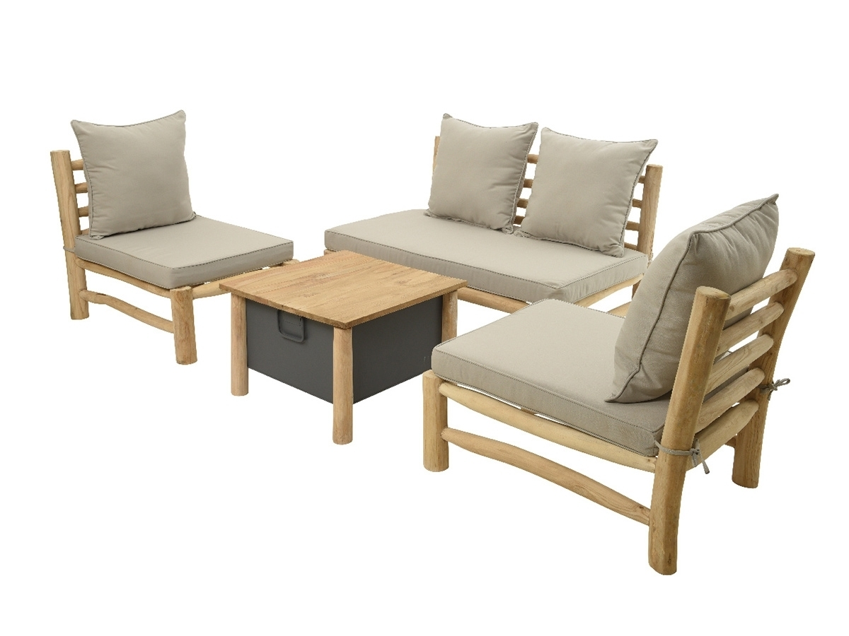 salon de jardin en bois mod le havana hesperide. Black Bedroom Furniture Sets. Home Design Ideas