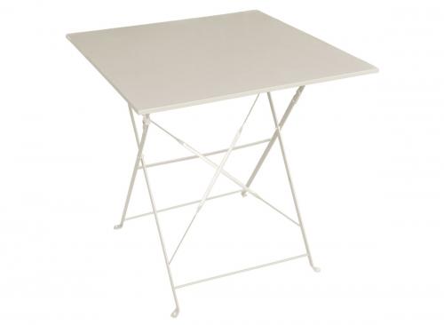 Table de jardin carrée Hesperide aluminium & verre à prix mini