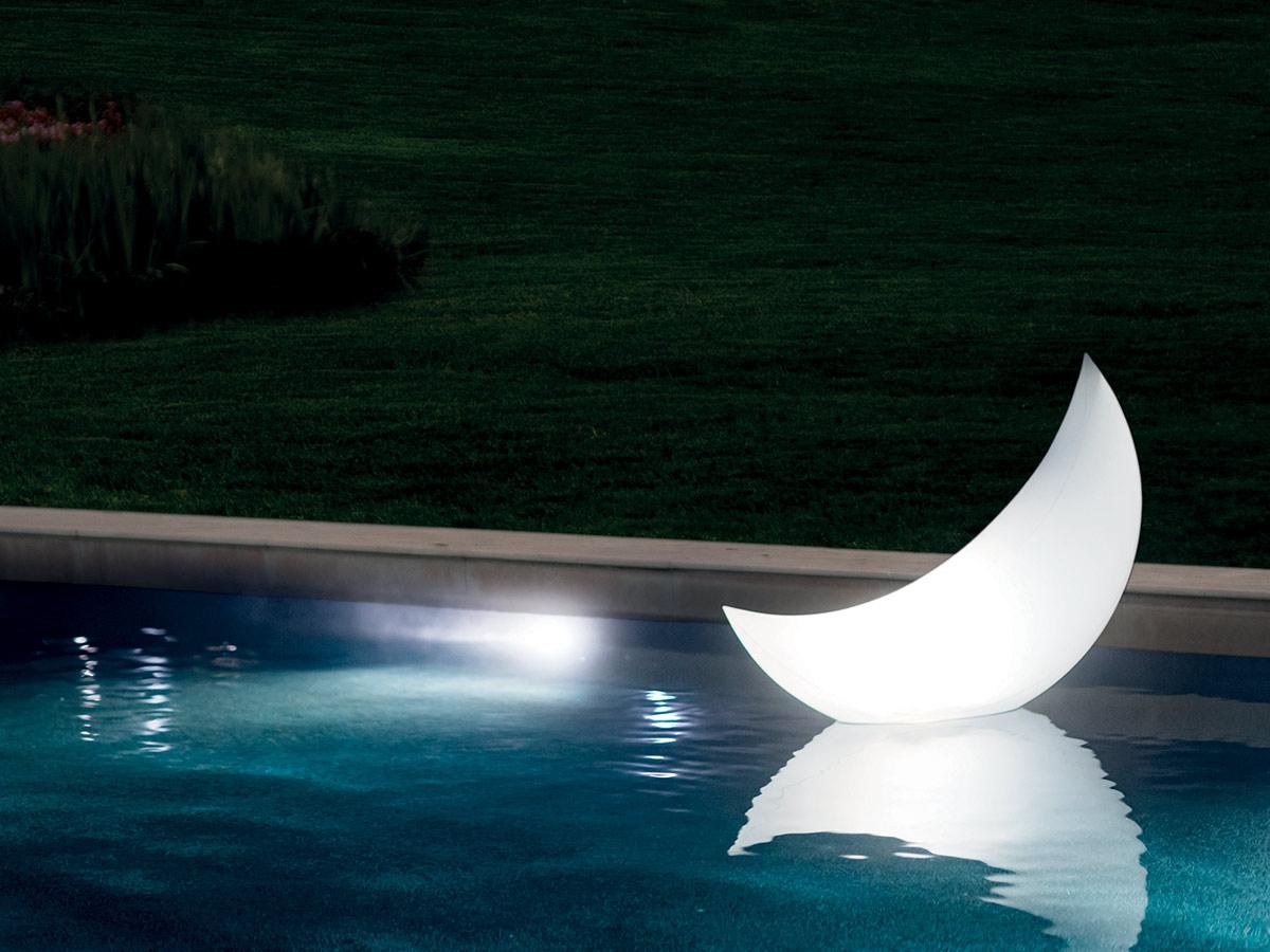 Eclairage Pour Piscine Tubulaire lampe d'ambiance led croissant de lune - intex
