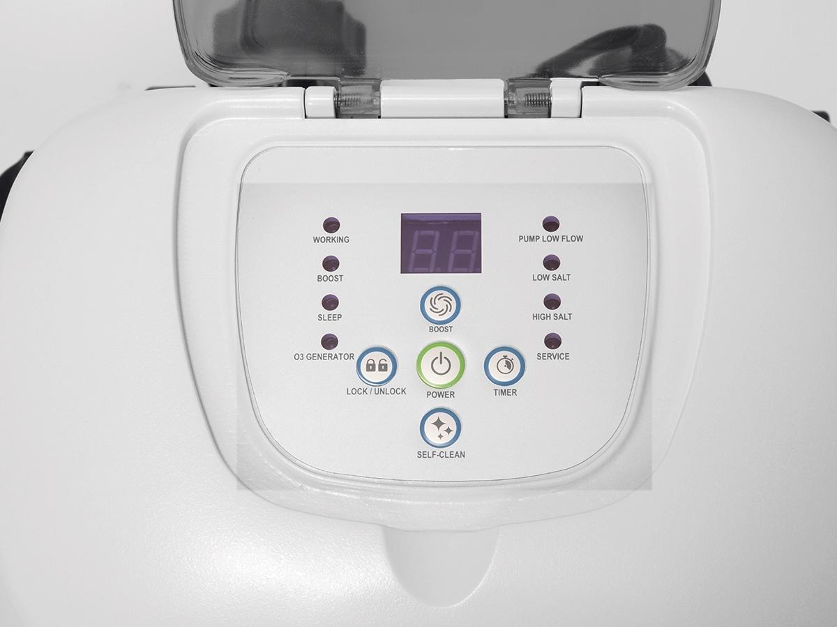 St rilisateur au sel intex pour piscine jusqu 39 60 m - Electrolyseur de sel pour piscine ...