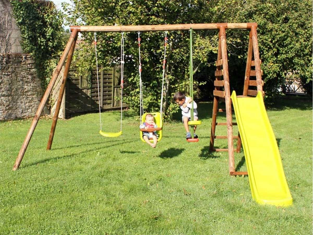 portique en bois pour enfants mod le arum soulet