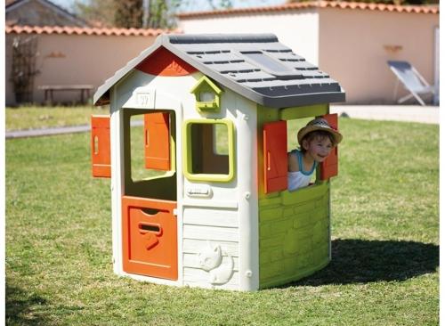 Cabane Pour Enfant Maisonnette En Bois Pvc Smoby Soulet