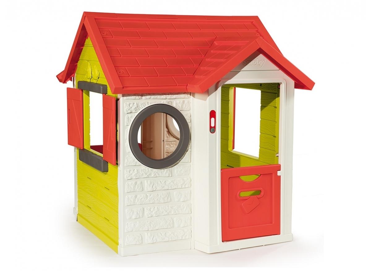 Cabane enfant Smoby modèle My House PVC à petit prix