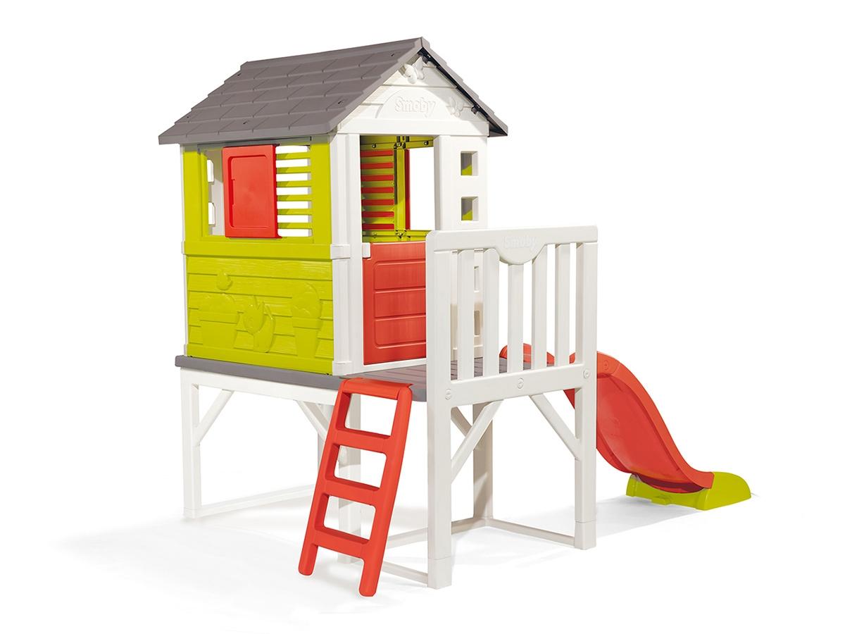 Maison Pour Enfant Exterieur cabane enfant plastique smoby modèle pilotis