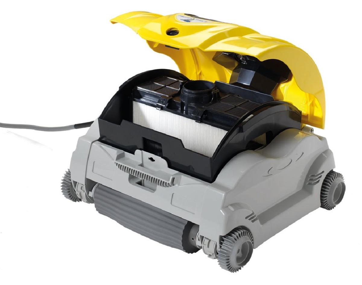 robot de piscine nettoyeur powershark ii chariot jardideco. Black Bedroom Furniture Sets. Home Design Ideas