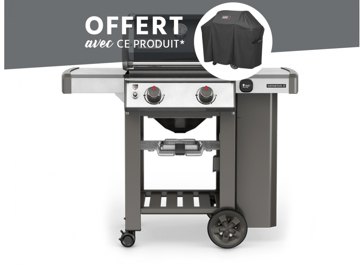 barbecue gaz weber genesis ii e 210 housse offerte. Black Bedroom Furniture Sets. Home Design Ideas