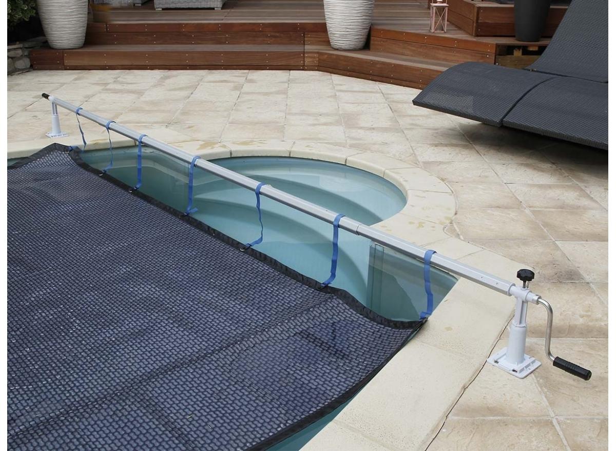enrouleur de b che bulles ubbink pour piscine hors sol. Black Bedroom Furniture Sets. Home Design Ideas