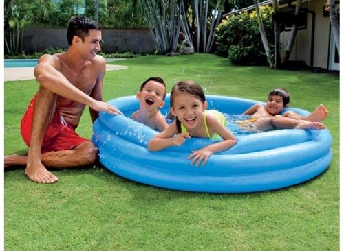 rang/ée Flottante 210 * 145 * 65CM adapt/ée aux Enfants de Plus de 3 Ans utilisant Une Famille Gonflable GJNVBDZSF Piscine Piscine Piscine Gonflable pour Enfants