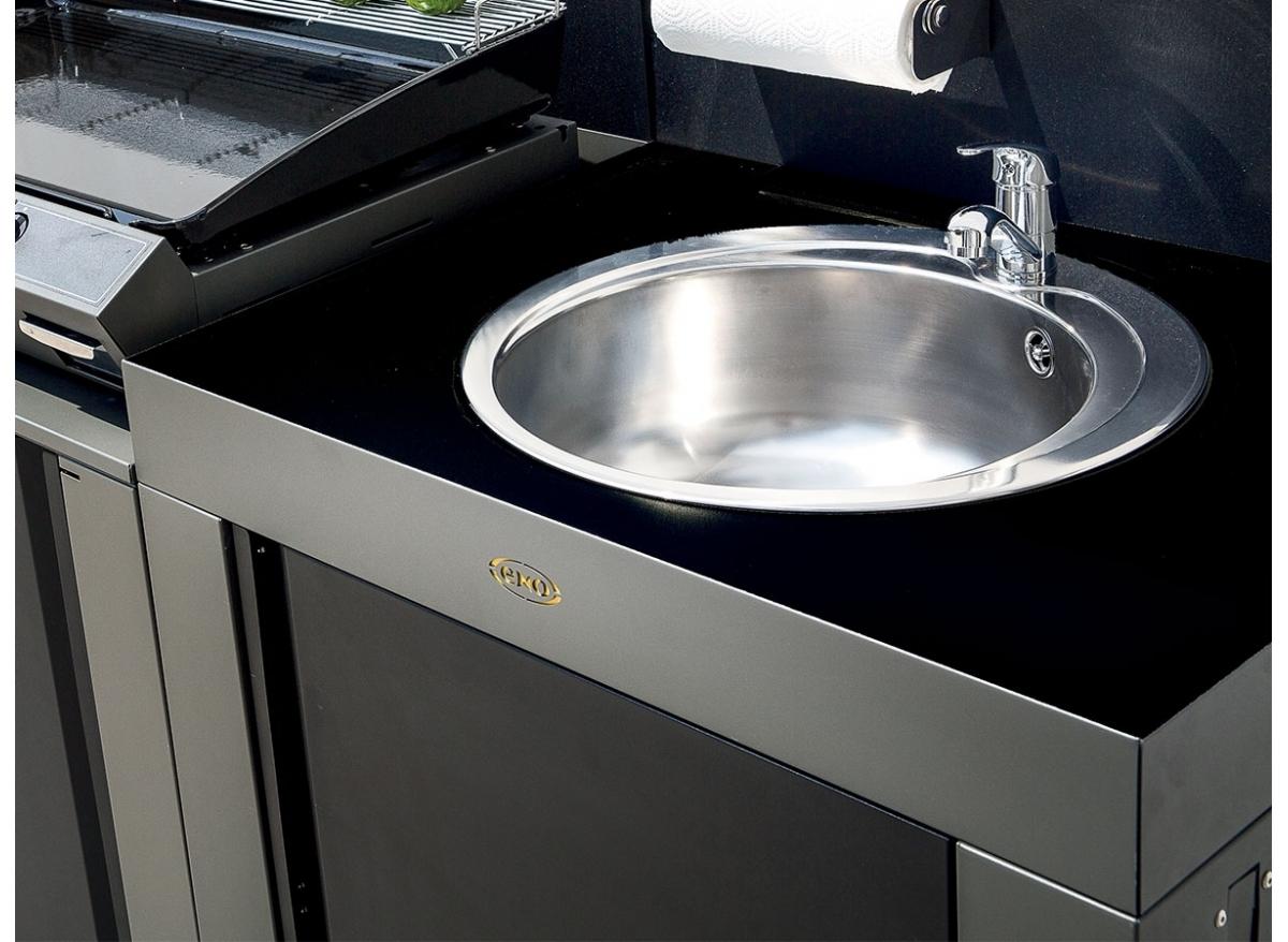 Evier Pour Cuisine D Été module evier pour cuisine extérieure modulo acier - eno