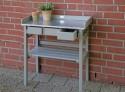 Table de jardinage surélevée grise