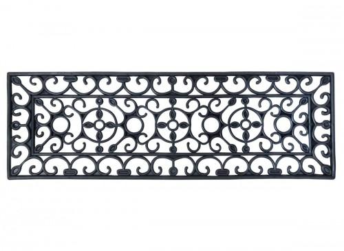 Paillasson tapis caoutchouc escalier - 75 x 25 cm