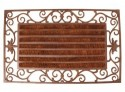 Paillasson tapis fonte rouleaux coco interchangeables - 74 x 46 cm