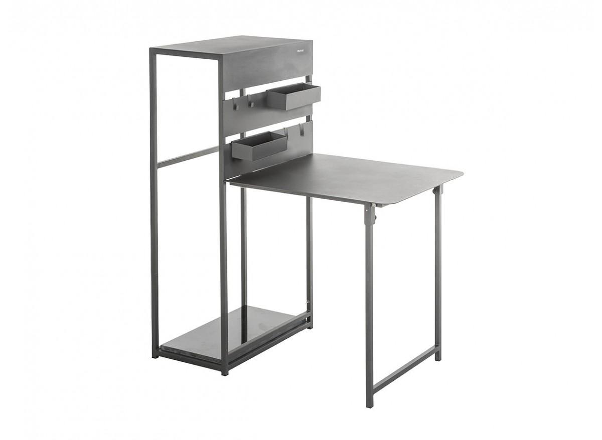 Table Rabattable Petit Espace table balcon pliante fira - hespéride -