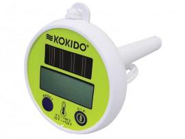 Thermomètre de piscine digital solaire