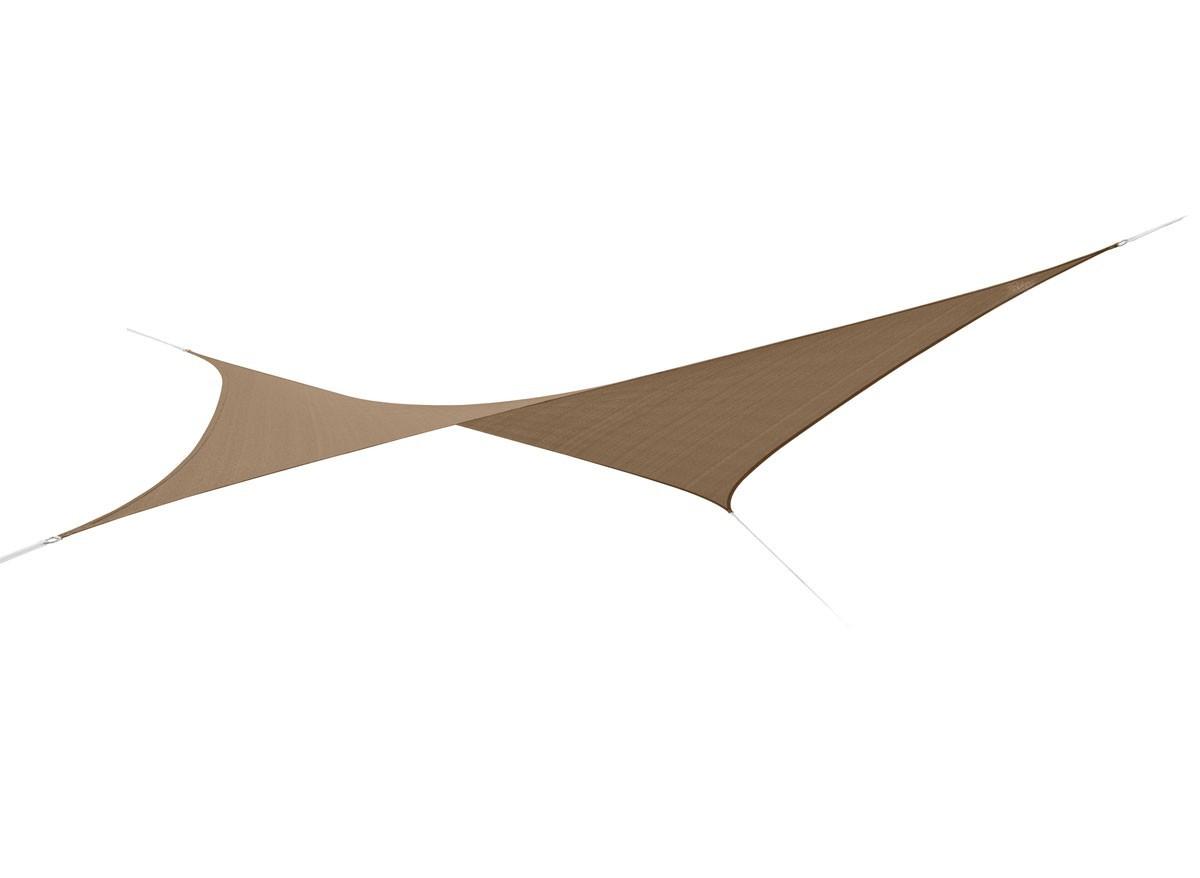 voile d 39 ombrage carr e 5 x 5 m austral 180g m. Black Bedroom Furniture Sets. Home Design Ideas