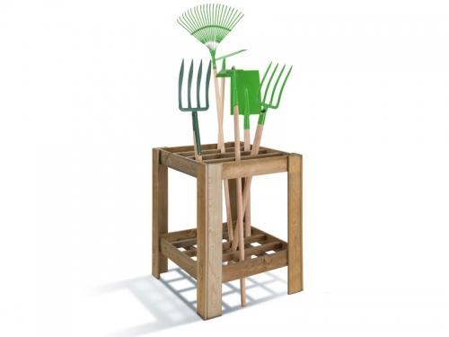 Range-outils en bois