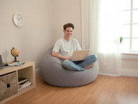Pouf gonflable - Sofa gonflable decathlon ...