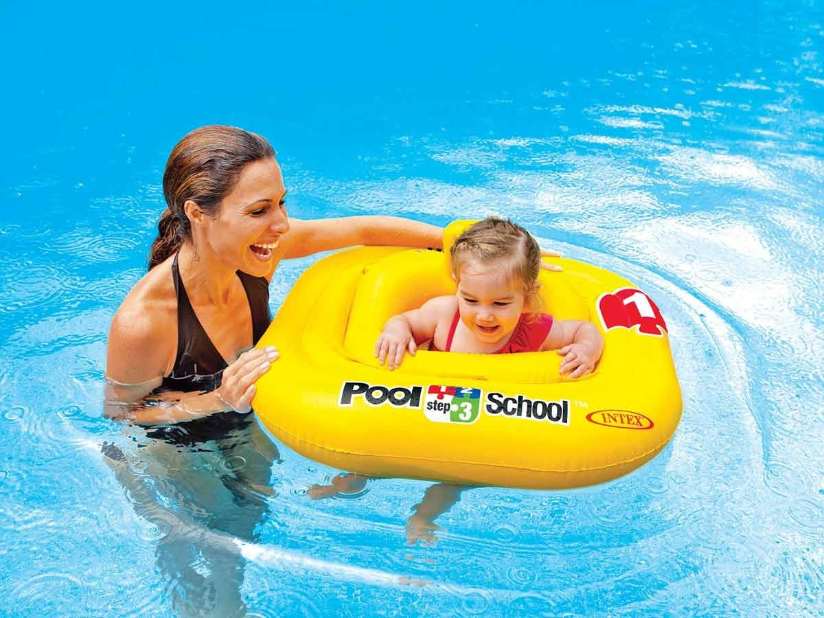 Bou e culotte pour enfant 1 2 ans intex jardideco for Brassard piscine 2 ans