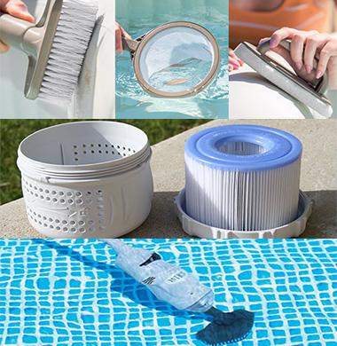 tous les accessoires spas gonflables intex indispensables. Black Bedroom Furniture Sets. Home Design Ideas