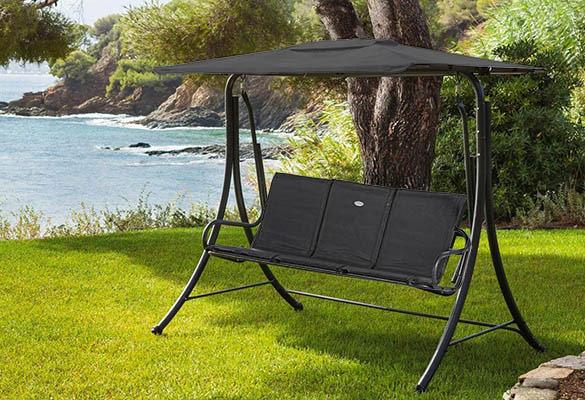 hamac balancelle hesperide pour jardin et terrasse pas cher. Black Bedroom Furniture Sets. Home Design Ideas