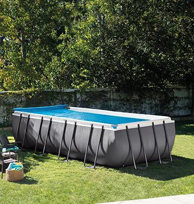 enrouleur de bache bulle pour piscine hors sol intex. Black Bedroom Furniture Sets. Home Design Ideas