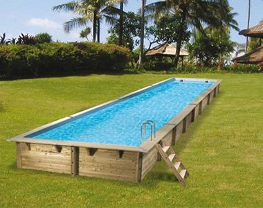 piscine bois hors sol ubbink sunbay pas cher. Black Bedroom Furniture Sets. Home Design Ideas