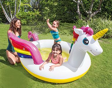 piscine gonflable intex pour enfants et b b s petit prix. Black Bedroom Furniture Sets. Home Design Ideas