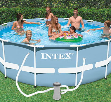 Piscine tubulaire ronde intex cadeaux livraison offerte - Offerte piscine intex ...