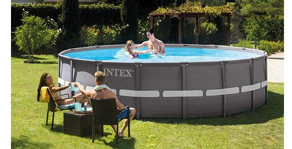 piscine hors sol intex tubulaire et autoport e piscine. Black Bedroom Furniture Sets. Home Design Ideas