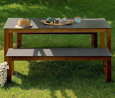 Salon de jardin bois à prix mini !