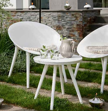 Salons de jardin Plastique / PVC Hesperide & Kaemingk : sélection 2019