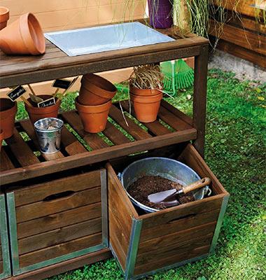 Table De Jardinage  Petit Prix