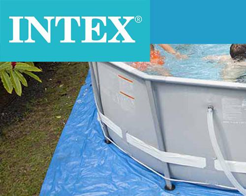 tapis de sol pour piscine hors sol intex plusieurs dimensions. Black Bedroom Furniture Sets. Home Design Ideas